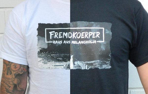 "T-Shirt ""Raus aus Melancholia"""
